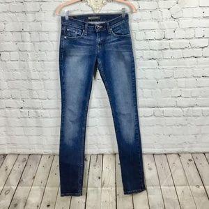 LEVI'S: 524 Too Super Low Jeans